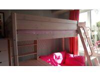 High Sleeper Bed with desk & sofa