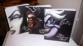 Disney Villains 3 book collection
