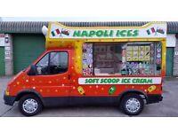 Hard Ice Cream Van with New MOT