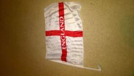 JOB LOT / CAR BOOT 10nr ENGLAND CAR FLAG ***PRICE REDUCED*** £5