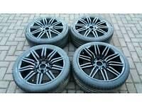 Bmw 19 inch Spider alloy wheels 5x120 e60