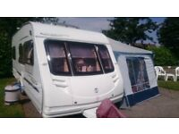 2006 Stirling Mhairi 4 Berth Fixed Bed Tourer