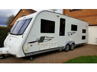 2010 Elddis Crusader Tempest (6 Berth Caravan with triple bunks)