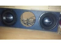 SUBS BOX 12INCH THIS IS GOOD WITH 3 SUBS IN £100 ONO