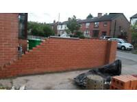 bricklayer+Labour