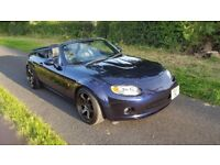 Mazda MX5 1 8 Icon Low Miles FMSH Leather BC Coilovers JR3 Alloys