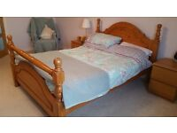 Pine Double Bed Frame