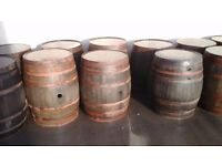 whiskey barrels from £35 buy direct from the distillery