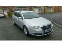 2006 VW PASSAT 2.0 TDI SE ESTATE L;OW MILES WITH FULL SERVICE GOOK GREAT DRIVER