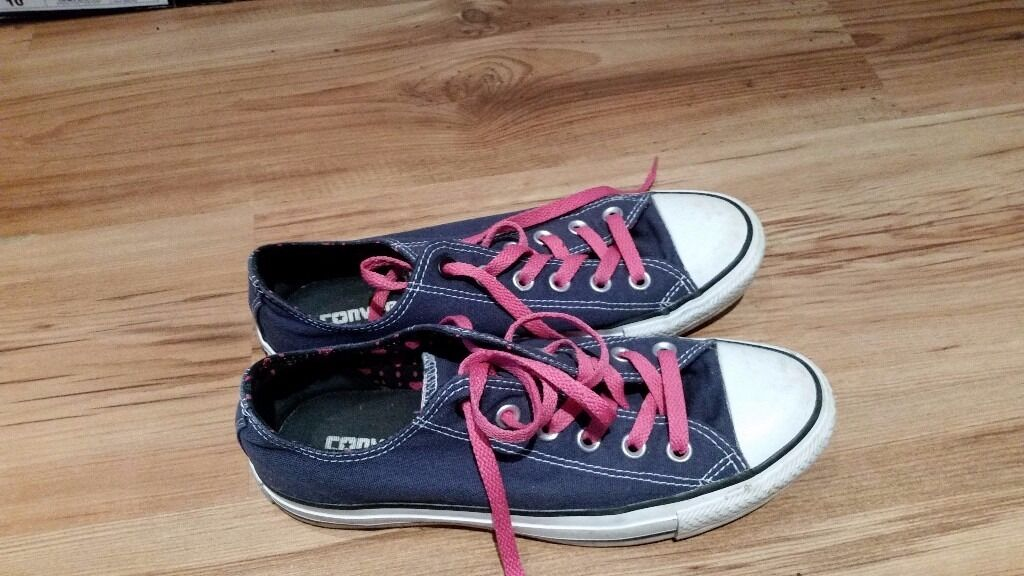 Used Converse All Star shoes, UK size 6.