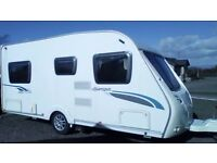 Sterling Europa 470 with mover and awning