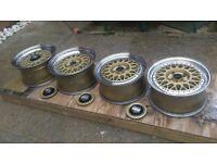"BBS RM 029 15"" split rims"