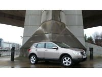 2007 57 NISSAN QASHQAI TEKNA 2.0 4WD BEIGE(PART EX WELCOME)