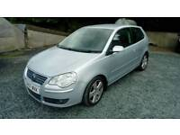07 Vw Polo TDI 3 door Diesel Silver Met 2Keys Can be seen anytime