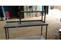 Commercial Stainless Steel Kitchen Prep Work Bench Catering Table 1.5M