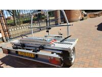 Motorbike and bicycle trailer as new, excellent condition.