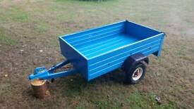 Metal trailer 5ft by 3ft