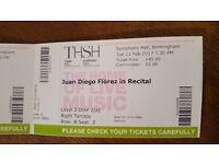 Juan Diego Florez Birmingham Symphony Hall 21 Feb - 3 tickets