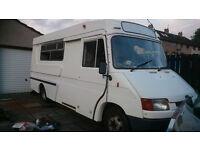 1989 MK3 Ford Transit Ambulance 2.5di conversion (NO MOT) unfinished camper conversion may swap
