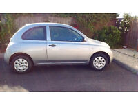 Silver Micra in great working condition, 7 months MOT, full service history
