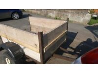 Small trailer solid newly boarded