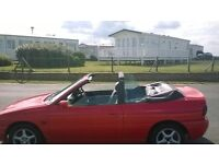 FORD ESCORT CONVERTIBLE NEED GONE BARGAIN £325 no offers