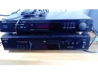 Separate tuner and cd player