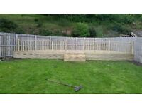 quality decking and fences