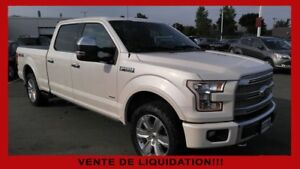 2016 Ford F-150 Platinum cuir toit mags système vision 360