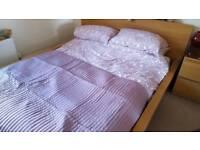 Ikea malm kingsize bed frame