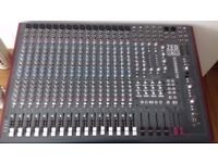 Allen and Heath Zed R16 16 channel firewire mixer for sale