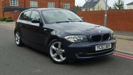 2007 BMW 1 Series 1.6 116i SE 5DR++Full Service History+Drives well+Mint car