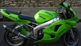 Kawasaki ninja zx-6r 1998