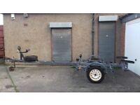 Boat trailer (galvanized)