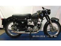 1957 350 cc AJS