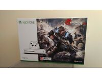 Microsoft Xbox One S (Latest Model) 1TB - Gears of War 4