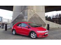 2009 09 HONDA CIVIC SE I-CDTI 2.2 DIESEL RED MOT 02/18 (CHEAPER PART EX WELCOME