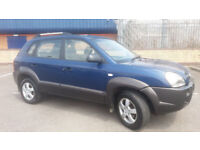 2007(07)HYUNDAI TUCSON 2.0 GSi 4WD MET BLUE,VERY LOW MILES,FSH,NEW MOT,CLEAN CAR,GREAT VALUE