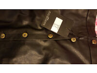 Leather skirt MIsguided brand new