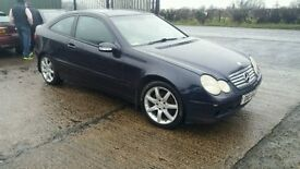 2003 c220 diesel coupe MAY PART EXCHANGE
