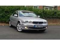 JAGUAR X-TYPE V6 AUTO ++2.1 PETROL AUTOMATIC++FRESH MOT++FULL LEATHER INTERIOR++TOW BAR FITTED++