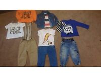 BABY BOY BUNDLE OF CLOTHES AGED 9-12 MONTHS