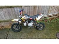 Stomp 110cc juicebox pit bike