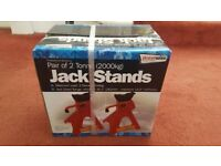 Axle Stands (pair) New in Unopened Box