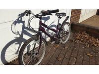 """Child's bike: Frame 10"""", wheels 20"""", manufacturer Emmelle, model Jazz"""