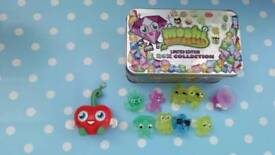 Limited edition Moshi Monsters with box and large Moshi.