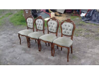 vintage shabby chic chairs . dinning chairs farmhouse chairs