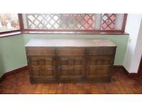 oak sideboard for sale..