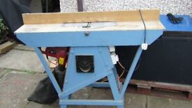 Wood Planer with custom table