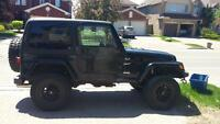2002 jeep tj sport upgrades...lifted tires and more